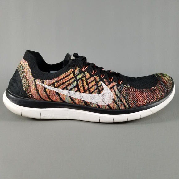 749e99e10496 Nike Free 4.0 Flyknit Men s Running Shoes SZ 11.5.  M 5bc4e5f3819e90a70202b295